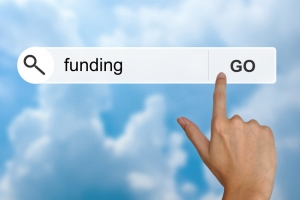 funding button on search toolbar